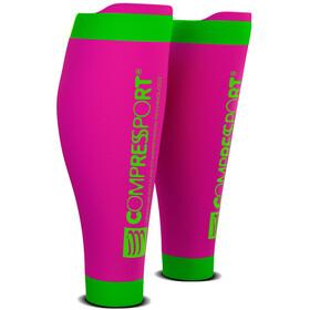 Compressport R2V2 Calf Sleeves fluo pink